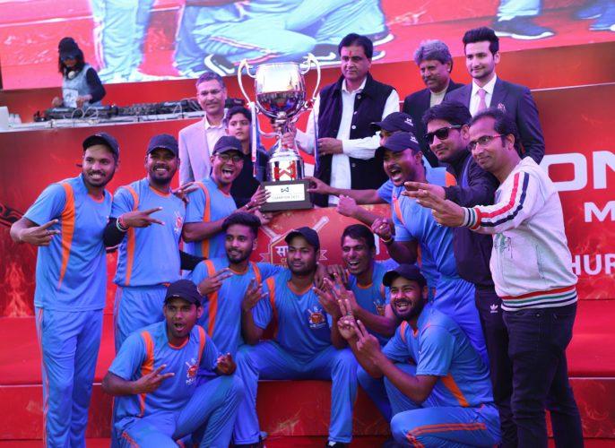 जयपुर की श्री श्याम क्रिकेट क्लब बनी वंडर सीमेंट साथ:7 की चैम्पियन