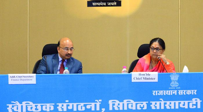 बजट पूर्व संवाद बैठक:विकास की जरूरतों और आमजन की आकांक्षाओं को पूरा करने वाला होगा बजट: राजे