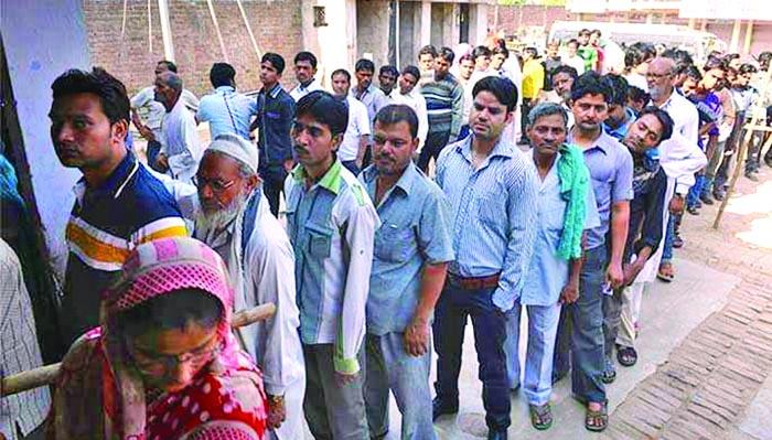उपचुनाव: अलवर 63, अजमेर 65.32 और मांडलगढ़ में 78.74 फीसदी मतदान