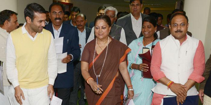 राज्यपाल के अभिभाषण पर मुख्यमंत्री का जवाब: राजनीतिक चश्मा हटाए विपक्ष, दिखने लगेगा विकास: राजे