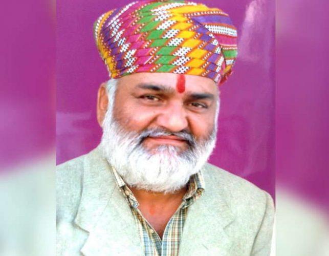 नाथद्वारा विधायक कल्याण सिंह का निधन