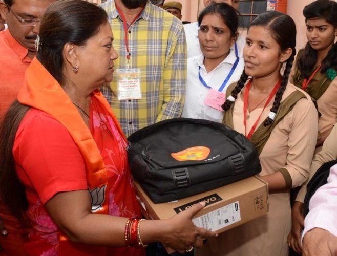 श्रीमाधोपुर में जनसंवाद: परिजन के अंगदान का साहस दिखाने वालों को सलाम: राजे