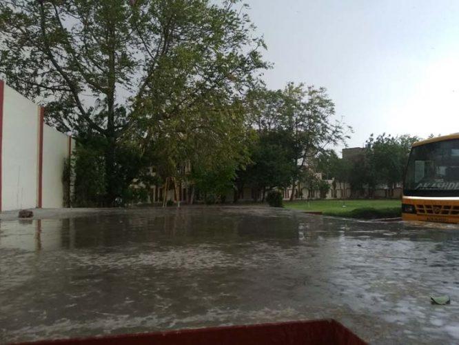 जयपुर में झमाझम, गर्मी से राहत