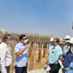 आवासन आयुक्त पवन अरोड़ा का मैराथन दौरा: जयपुर स्थित मंडल के निर्माणाधीन प्रोजेक्टों का निरीक्षण