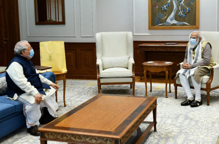 चर्चा: राज्यपाल मिश्र ने की पीएम मोदी से मुलाकात