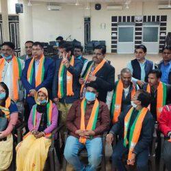 भाजपा गेम: पूरी ncp हो गई bjp में मर्ज, निवाई में भाजपा बोर्ड तय