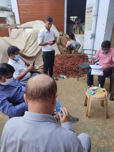 मसाला पिसाई केंद्र पर स्वास्थ्य विभाग की बड़ी कार्रवाई