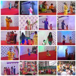 आशियाना वृंदा गार्डन सोसायटी में कृष्ण जन्माष्टमी महोत्सव धूमधाम से आयोजन  मनाया गया