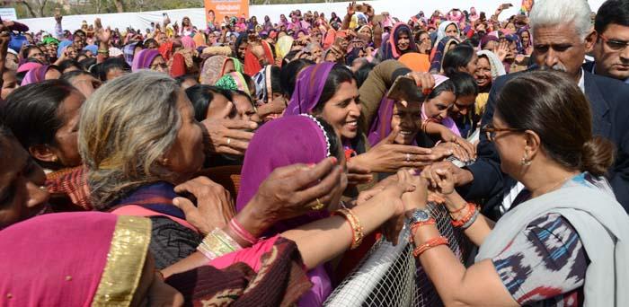 महिलाएं हर चुनौती का सामना करने में सक्षम: राजे
