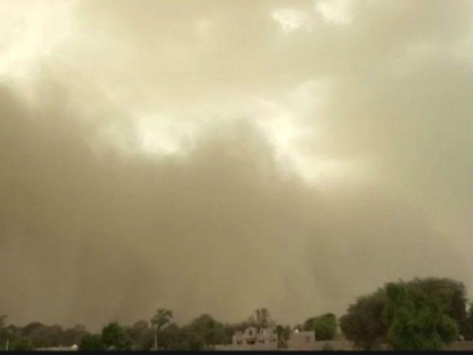 बीकानेर में बदला मौसम, प्रदेश में फिर तूफान का खतरा