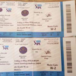 आईपीएल: टिकिट होते हुए भी जयपुर में मैच नहीं देख पाए कई दर्शक