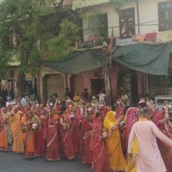 गौतम जयंती पर निकली कलशयात्रा और प्रभातफेरी