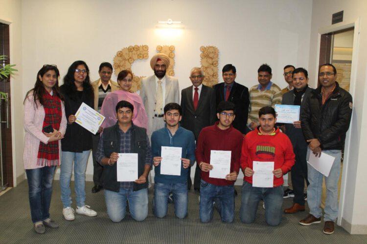 बीएसडीयू के छात्रों ने रोमानिया की बैनट यूनिवर्सिटी ऑफ एग्रीकल्चर साइंस में हासिल की इंटर्नशिप