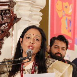 अवसर: मधु ने पहली बार जेएलएफ में  पढ़ी अपनी अपनी कविताएं