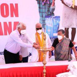 नारायण सेवा संस्थान ने 'कोरोना' से प्रभावित कामगारों के लिए शुरु की निःशुल्क राशन योजना