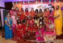 गणगौर महोत्सव में दिखा गजब का उत्साह, राजस्थानी परिवेश में सजी-धजी महिलाओं व कन्याओं ने लगाए चार चांद