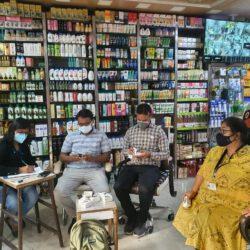 औषधि नियंत्रक दल ने जयपुर में तीन दवा दुकानों सहित चार फर्म पर मारे छापे, कालाबाजारी के खिलाफ लगातार कार्रवाई