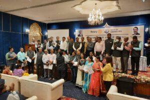 रोटरी क्लब जयपुर रॉयल का शपथ ग्रहण समारोह संपन्न