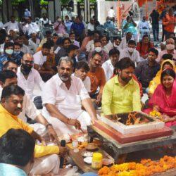 विप्र फाउंडेशन ने सरकारी मुख्य सचेतक डॉ. महेश जोशी के जन्मदिन पर किया दीर्घायु के लिए हवन-अनुष्ठान
